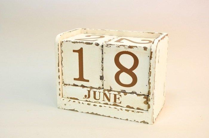 Календар своїми руками фото 4