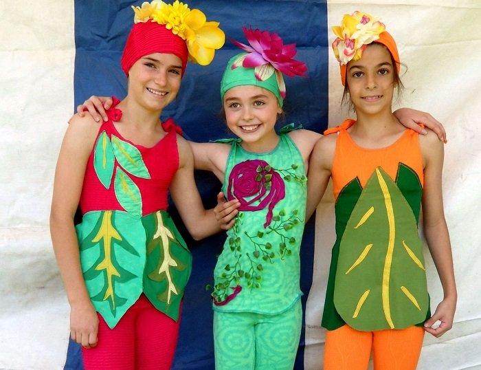 костюм Весны — спортивный, удобный и яркий