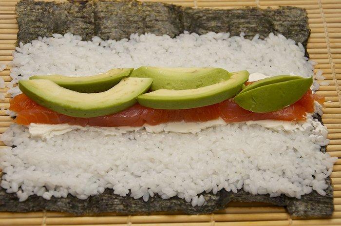Делаем суши - инструкция, шаг 8