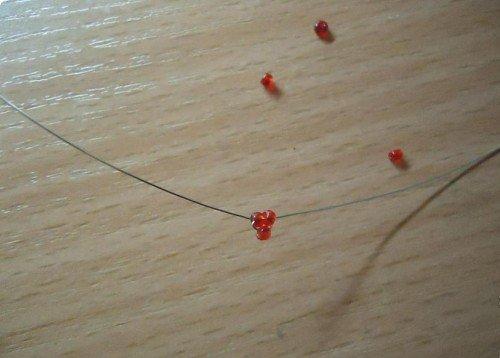Розы из бисера, схемы. Мастер-класс, фото 1
