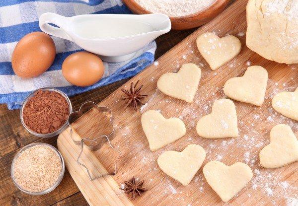Печенье сердечки, фото