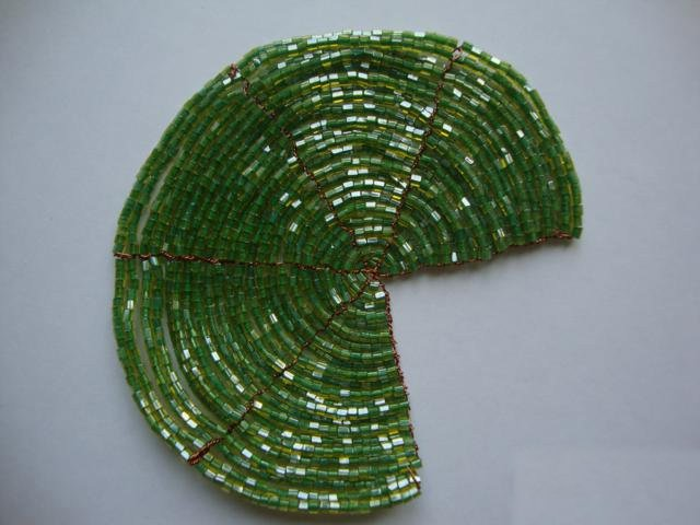 Лилии из бисера, схемы плетения - фото 11