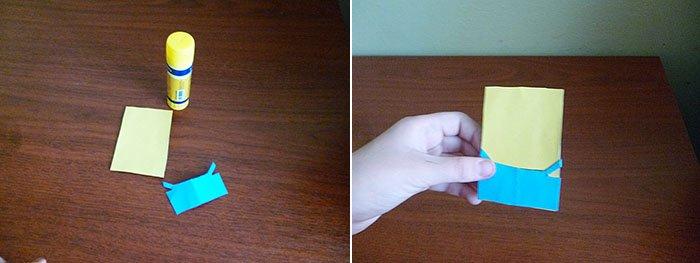 Как сделать миньона из бумаги