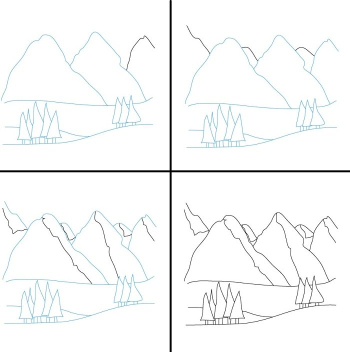 Малюємо гори