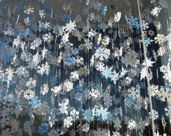 Схеми сніжинок з паперу