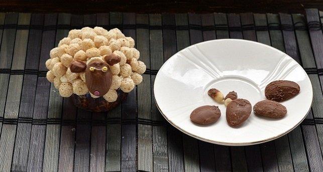 Рецепт капкейков в форме барашков. Фото 6