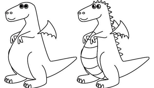 Как рисовать драконов шаг за шагом, схема 2 - этап 3