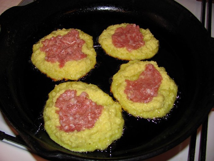 Деруны с мясом, рецепт - фото 4