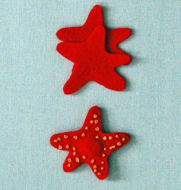 Детские поделки из фетра своими руками - рыбки из фетра, фото 3