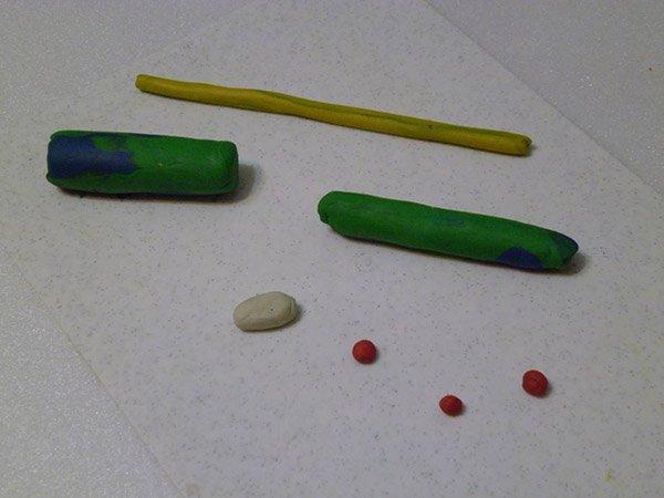 Фігурки з пластиліну - літак, фото 1