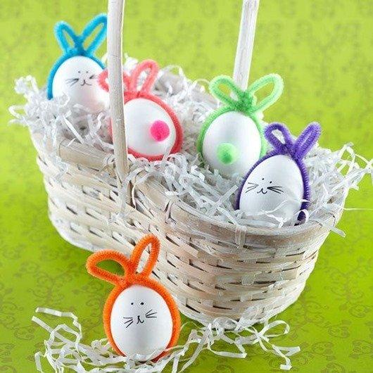 Пасхальные яйца — Кролики