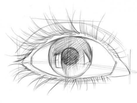 рисуем глаза этап 3
