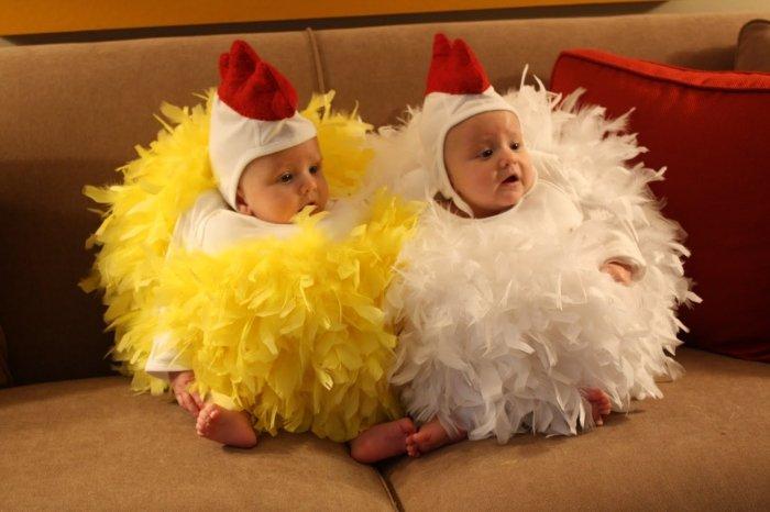 Костюм цыпленка для самых маленьких