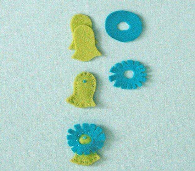 Дитячі поробки з фетру своїми руками - рибки з фетру, фото 8
