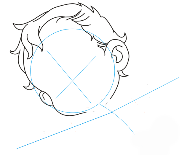 Як намалювати Купідона, урок малювання 3
