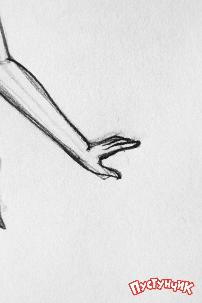 Як намалювати фею Дінь-Дінь поетапно - фото 17