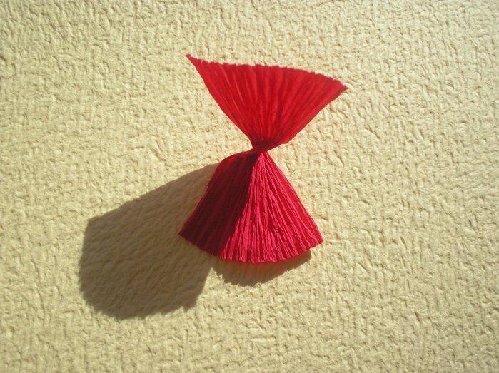 Букеты из гофрированной бумаги своими руками пошагово - фото 5
