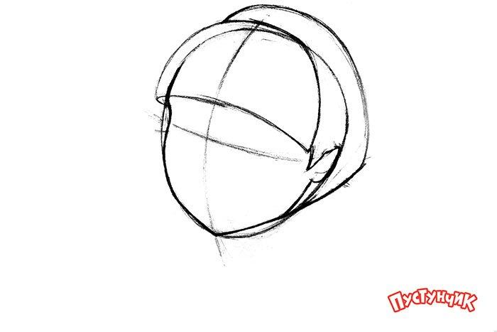 Как нарисовать Монстер Хай - Дракулаура, фото 4
