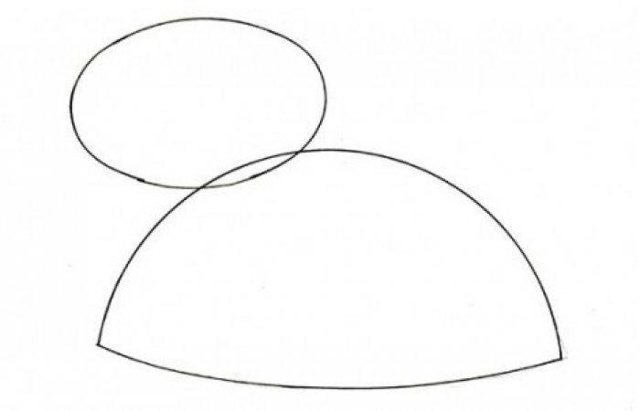 Как нарисовать черепаху карандашом поэтапно, фото 1