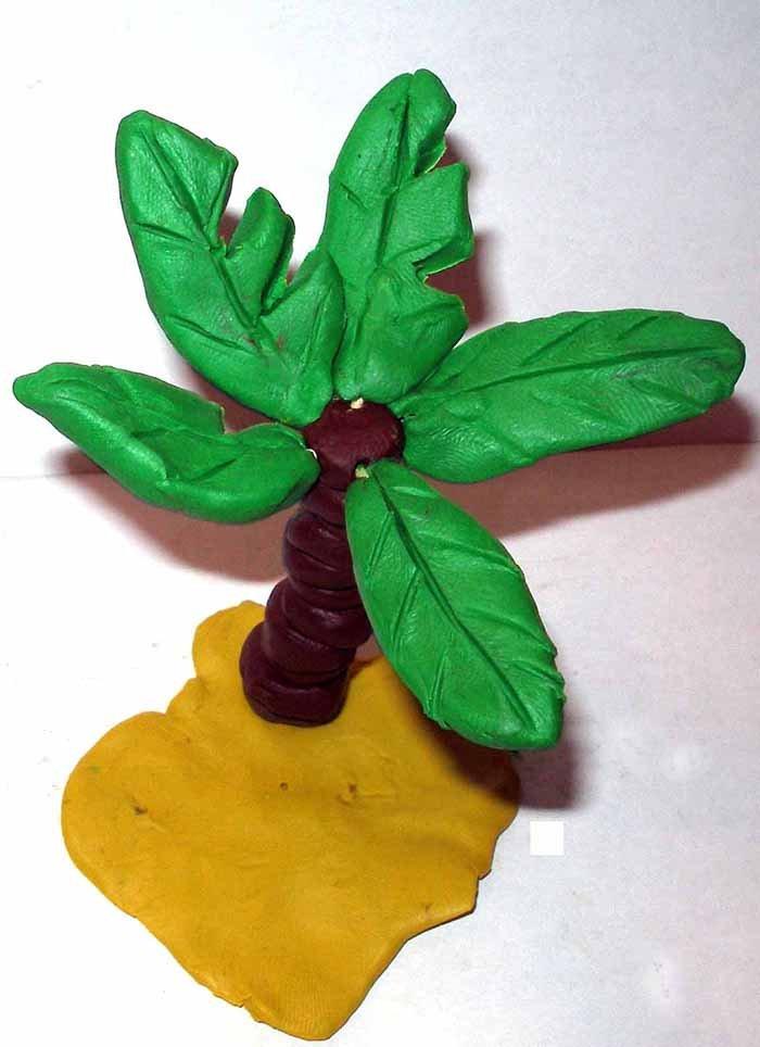 Ліпимо квіти з пластиліну, фото 32