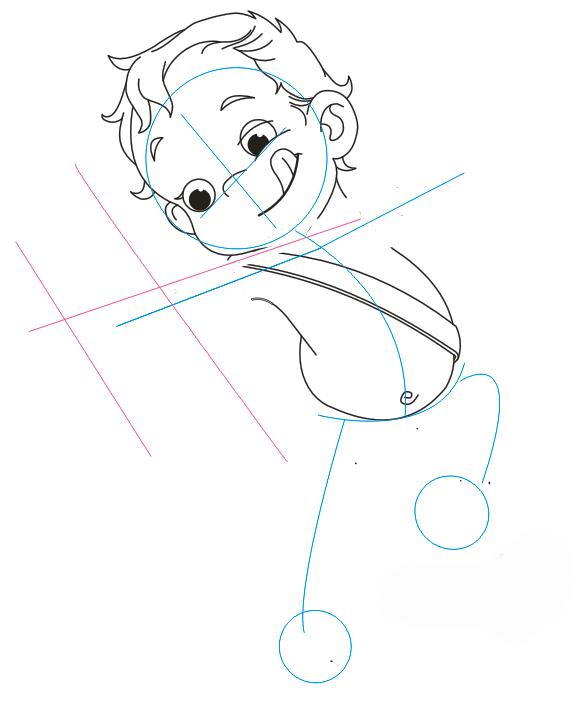 Як намалювати Купідона, урок малювання 5
