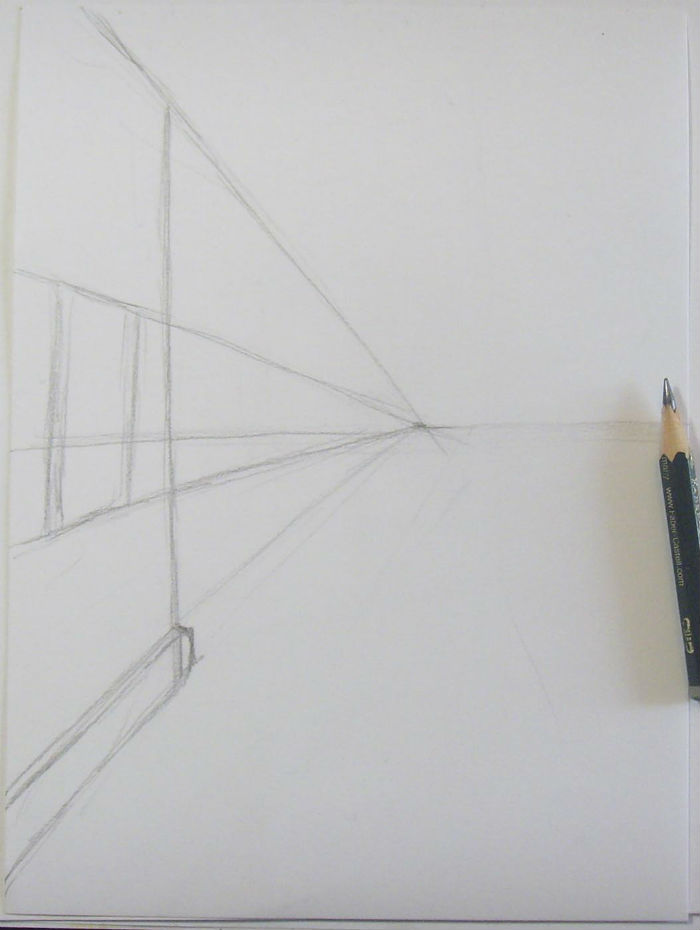 Як намалювати пейзаж кольоровими олівцями