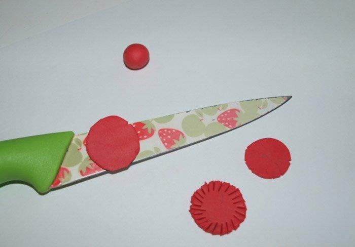 Ліпимо квіти з пластиліну, фото 19