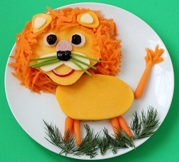 Бутерброд лев