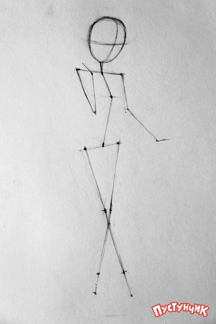 Як намалювати фею Дінь-Дінь поетапно - фото 9