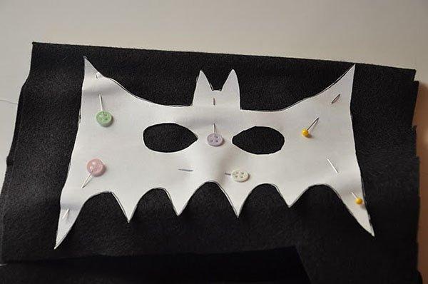 Маска Бэтмена своими руками, фото 2