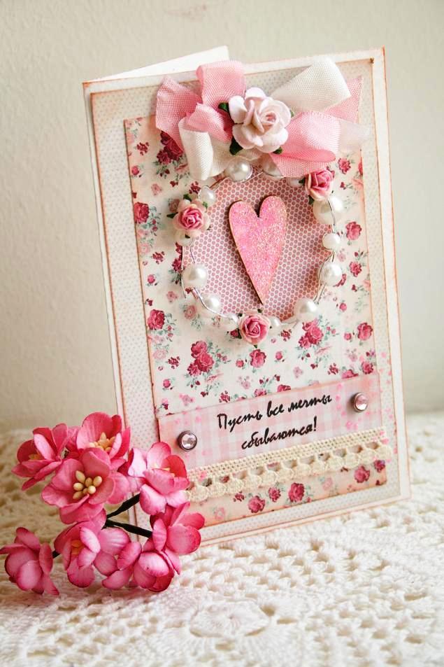 Валентинка своими руками — подари любовь!