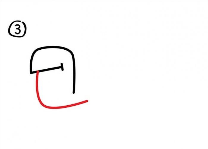 Как нарисовать черепаху карандашом поэтапно, фото 24