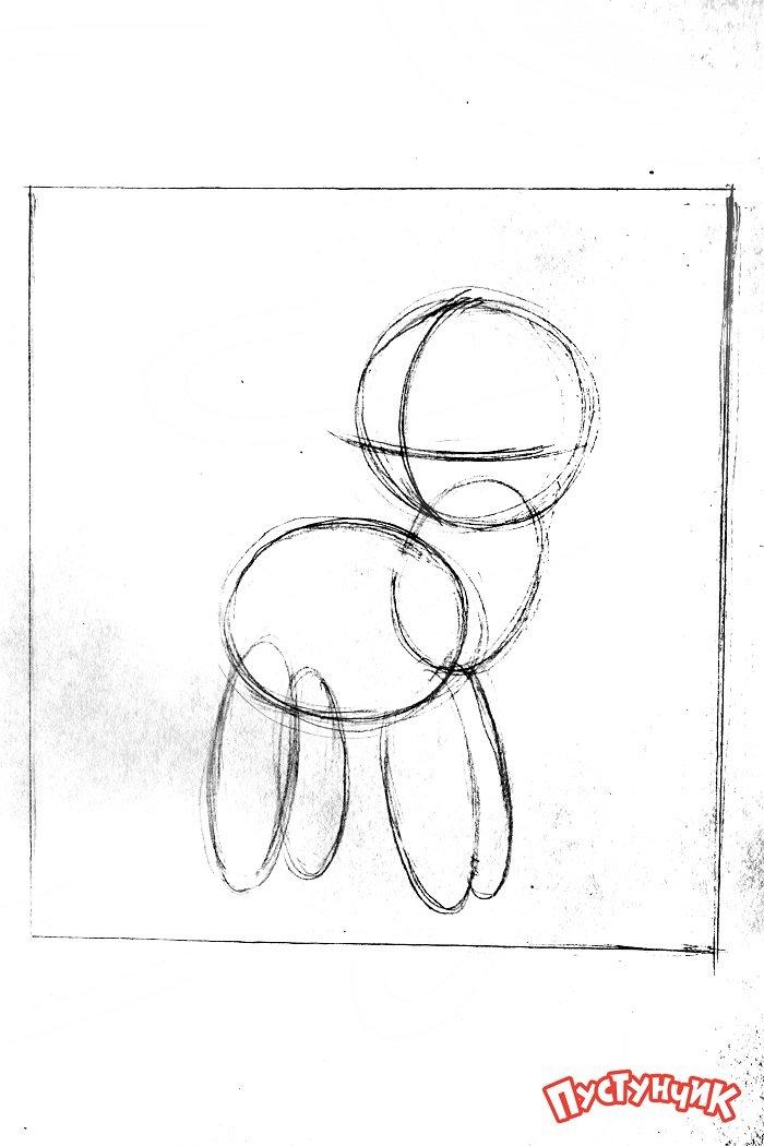 Как нарисовать пони Рарити, фото 8
