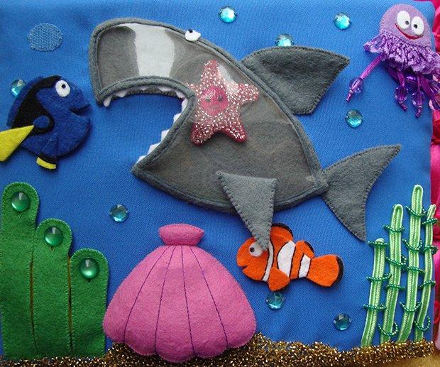 Детские поделки из фетра своими руками - рыбки из фетра, фото 12