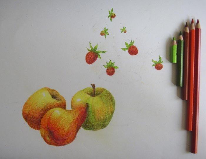 Как нарисовать натюрморт карандашом поэтапно, фото 9