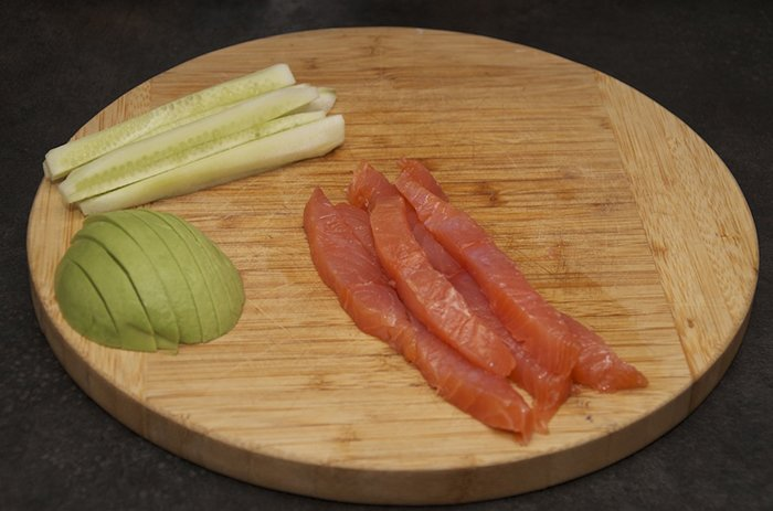 Начинка для суши, шаг 4