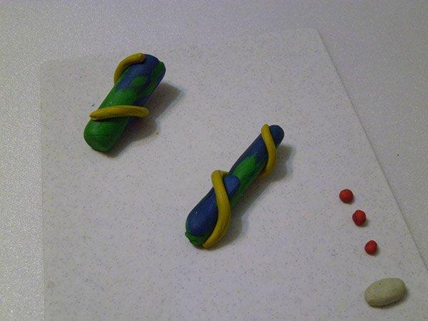 Фігурки з пластиліну - літак, фото 2