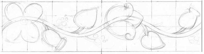 Малюємо український орнаменти і візерунки крок 2