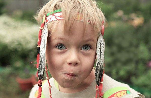 Индейский головной убор своими руками, фото 19