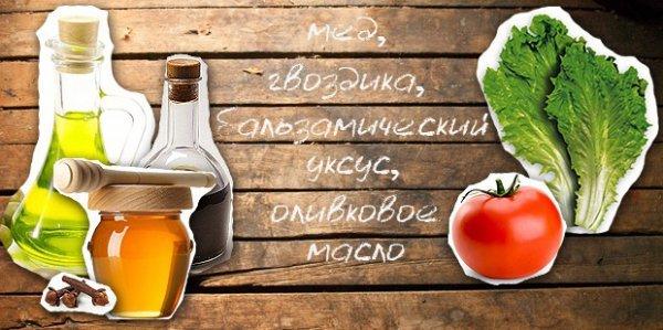 Салатная заправка с бальзамическим уксусом, рецепт