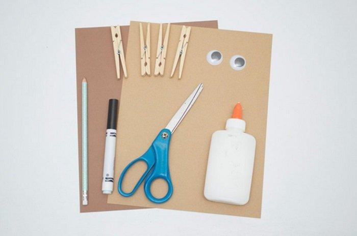 Маска обезьяны из бумаги своими руками, фото 1
