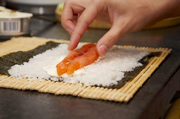 Делаем суши - инструкция, шаг 7