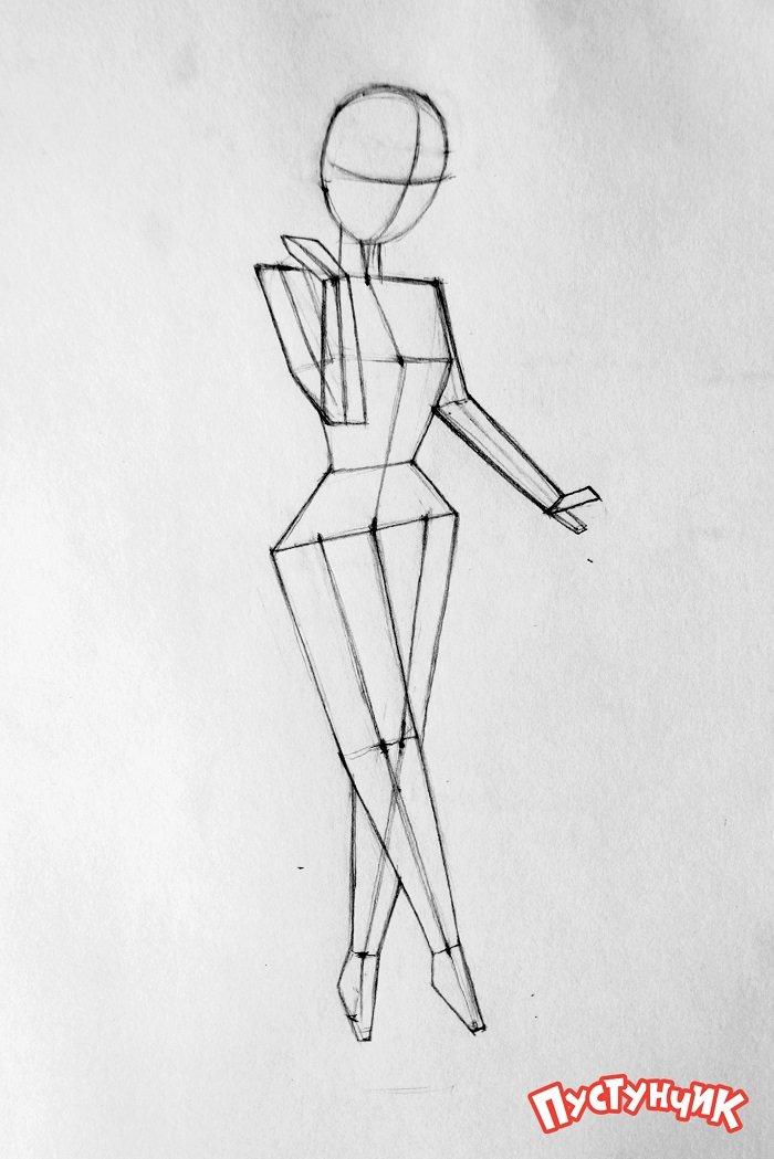 Как нарисовать фею Динь-Динь поэтапно - фото 10