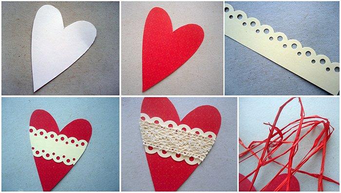 Как сделать валентинку из бумаги для мамы