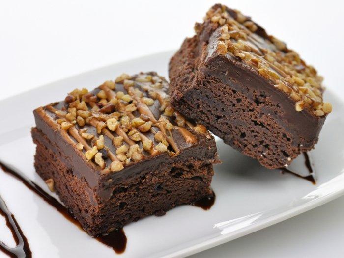 Рецепт брауни с шоколадом и орехами, фото 4