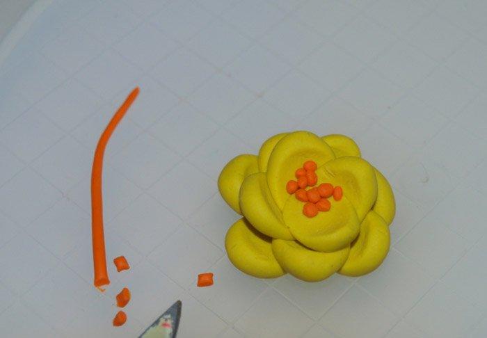 Ліпимо квіти з пластиліну, фото 16