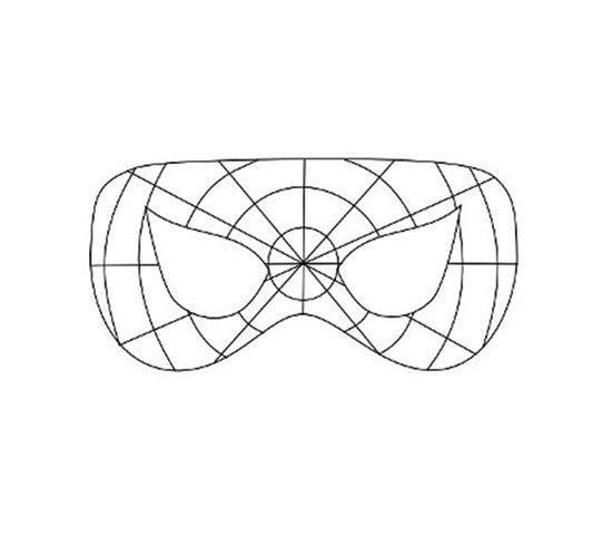 Маска Человека паука своими руками: из ткани, из бумаги 49