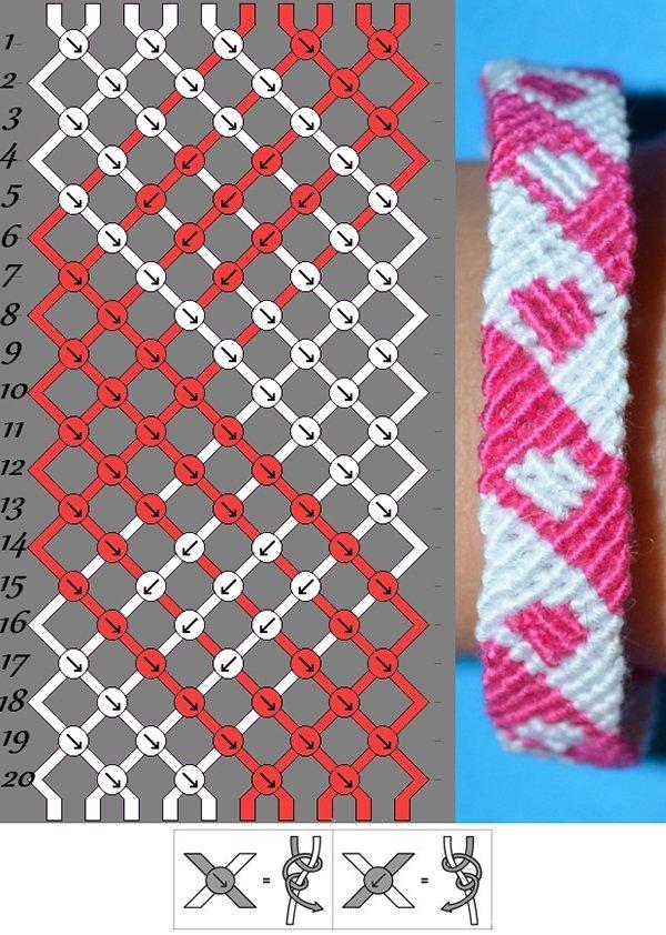 Прості та красиві фенечки: схеми для початківців