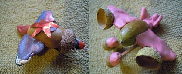 Фигурки из пластилина - самолет, фото 5