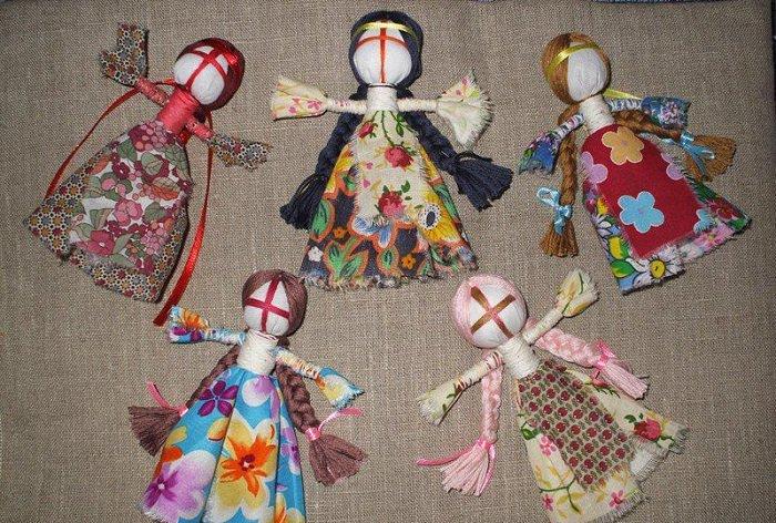 Кукла мотанка своими руками фото 14